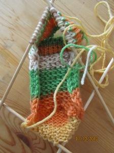 輪編みの前