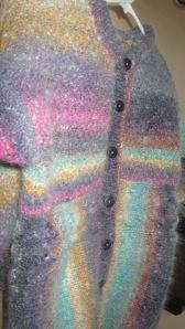 毛足がほわほわしているので色がとても微妙にブレンドしています