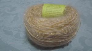 キラキラと金色の糸が入っているのわかります?