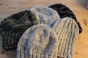 帽子の群れです